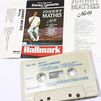 JOHNNY MATHIS MISTY CASSETTE TAPE ALBUM HALLMARK