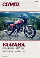 1977-1981 Yamaha XS 750 850 XS750 XS850 Triple CLYMER REPAIR MANUAL M404