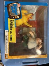 2005 MEZCO Family Guy Giant Chicken vs Peter Action Figure Set New In The Box