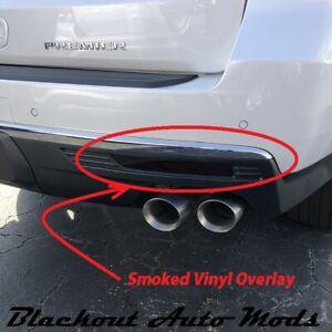 2021 Chevrolet Tahoe Rear Bumper Reflector Blackout Kit Vinyl Overlay