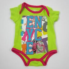 Enyce Girls Graphic One Piece Tshirt 100% Cotton Multi-color Size 3 Months