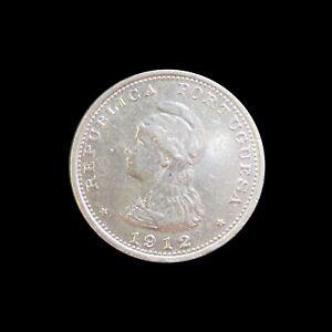 PORTUGUESE INDIA RUPIA 1912 SILVER KM 18 #159#