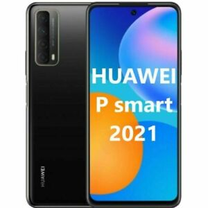 HUAWEI P SMART 2021 MIDNIGHT BLACK 128GB ROM 4GB RAM DUAL SIM NO SERVIZI GOOGLE
