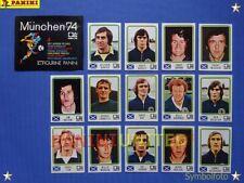 Panini★WM 1974 WorldCup WC 74★Team Schottland komplett / Scotland complete set