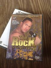 WWF WWE THE ROCK THE PEOPLES CHAMP (DVD,2000,1-Disc Set)Authentic US