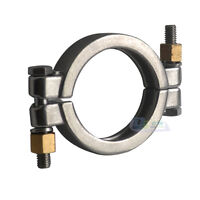 High Pressure Tri Clamp 2.5 inch Bolted Sanitary Stainless Steel 316 Megairon