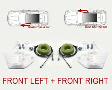 Window Regulator Winder Repair Kit for Smart Fortwo 450 Front Left + Front Right