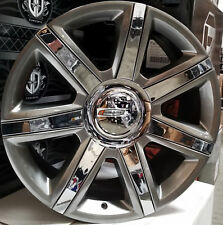 "22"" Cadillac Escalade Platinum New Style Rims Wheels Hyper Black Chr EXT ESV 24"