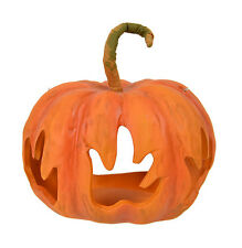 "Flame 5.5"" x 3.75"" Halloween Pumpkin Lantern"