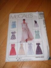 MCCALLS PATTERN 8043 ~ MISSES DRESSES (8 STYLES) ~ SIZES 12-16 ~ NEW