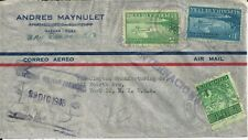 1950 Certified International Airmail Cover From San Rafael To New York.