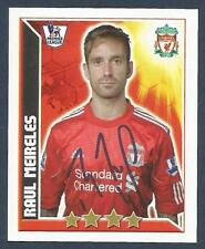TOPPS 2011 PREMIER LEAGUE #205-LIVERPOOL & PORTUGAL-PORTO-RAUL MEIRELES