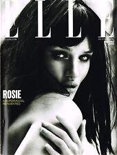 ELLE UK 10/2013 ROSIE HUNTINGTON-WHITELEY Ilse De Boer EHREN DORSEY @NEW Ltd Ed@