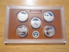 2014 S Clad Proof America The Beautiful Quarter Set  No Box or Coa
