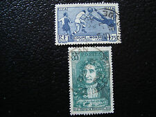 FRANCE - timbre - Yvert et Tellier n° 396 397 obl (A3) stamp french