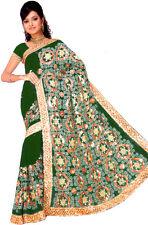 NW Bollywood Indien Sari Saree ROBE KAFTAN Ventre Danse Jupe Boho Drape Curtain