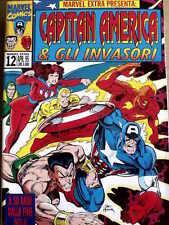 Marvel Extra n°12 1995 - Capitan America & Gli Invasori ed. Marvel Itali [G.195]