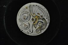 VINTAGE 12 SIZE HAMILTON POCKET WATCH MOVEMENT GRADE 910 FOR REPAIRS