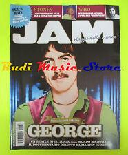 Rivista JAM 187/2011 George Harrison Rolling Stones Who Black Keys Beatles No*cd