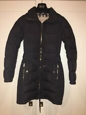 Burberry Brit Long Down Coat XS