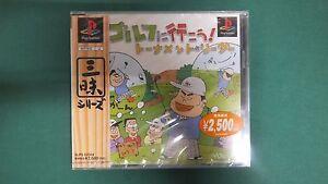 PlayStation -- GOLF TOURNAMENT LEADER -- PS1. New & Sealed. JAPAN GAME. 23326