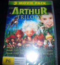 Arthur & The Invisibles Triple Pack / Trilogy (Australia Region 4) DVD – New