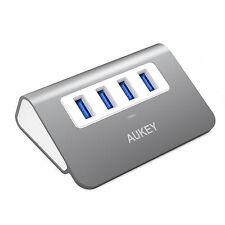 Aukey CB-H5 Expand PC & MAC Station of 4 Ports USB 3.0 Hub Hi-speed - Space Grey