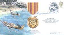 BBF3 WW2 WWII Spitfire Dunkirk RAF cover signed RAYMOND BAXTER