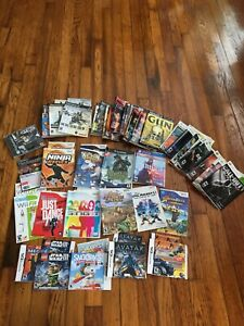 Lot of 49 Nintendo DS 3DS Gamecube Wii PlayStation Xbox Case Art & Manuals
