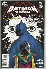 BATMAN AND ROBIN # 22  (DC 2011)  FIRST SERIES  PETER J. TOMASI  PATRICK GLEASON