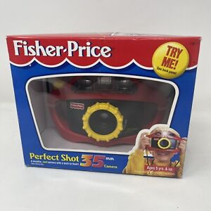 Vintage Fisher Price Perfect Shot 35 mm Kids Camera 1997 New Open Box