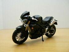 Motos miniatures noirs Triumph