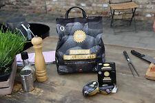 4x Premium Grillbrikett 5kg Grillbriketts RAUCHFREI bis zu 4,5 Std inkl Paste