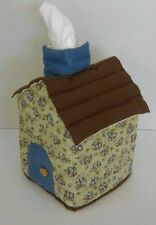 House Shaped Tissue Box Cover(Bouquet)