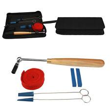 New 6pcs Professional Wood Handle Piano Tuning Hammer w/Mute Tune Tool Kit Set