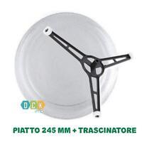 Microonde PIATTO 24,5cm per LG Electronics 99878 ms1905c ms1907c FAR