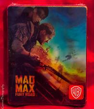 Mad Max: Fury Road 3D Steelbook - Lenticular Edition SteelBook Blu-Ray NEW