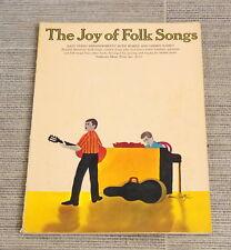 Musik The Joy of Folk Songs Easy Piano Arrangements Musikheft Notenheft
