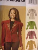 Butterick Sewing Pattern 5530 Ladies / Misses Lined Jacket Size 14-22 Uncut