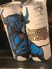 SCHLITZ MALT LIQUOR Beer BULL ~ RARE 2000 ~ CANS Tin Advertising Sign NOS