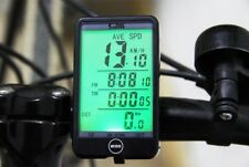 Auto Light Mode Touch Wired Bicycle Computer Speedometer Line Control