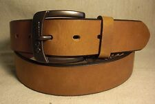 Columbia Men's Tan Genuine Leather Belt Size 40 NWT $34