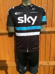 Replica Team Sky Rapha Jersey & Bib Shorts  | 2XL |  Good condition
