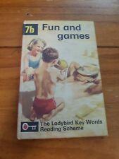 The Ladybird Key Words Reading Scheme Book Fun & Games  1966