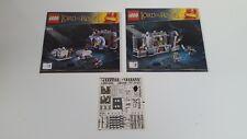 LEGO CITY!!! instructions et stikers seulement!!! Pour LOTR 9473
