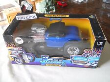 Muscle Machines '32 Ford Roadster Blue 1:18 Diecast 1932 Hot Rod