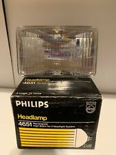 New Philips H4651BV BlueVision Halogen Headlamp C6 12V 50W High Beam for Mustang