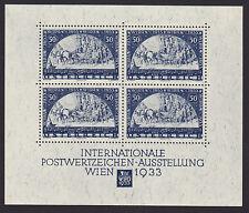 Ö. WIPA Block 1 aus 1933 als Faksimile TOP siehe Bild >