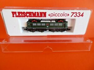 Fleischmann Piccolo Spur N 7334 E-Lok  gebraucht im TOPZUSTAND in OVP