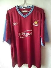 2003-05 West Ham Home Shirt Jersey Trikot XL